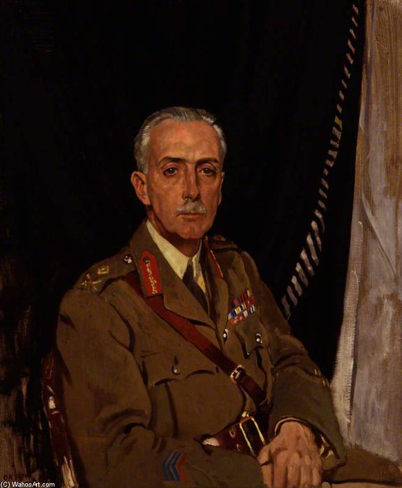 Charles Sackville-west , 4th Barón Sackville de William Newenham Montague Orpen (1878-1931, Ireland)