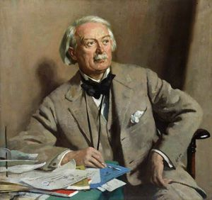 William Newenham Montague Orpen - david lloyd Jorge , 1st Conde Lloyd-george