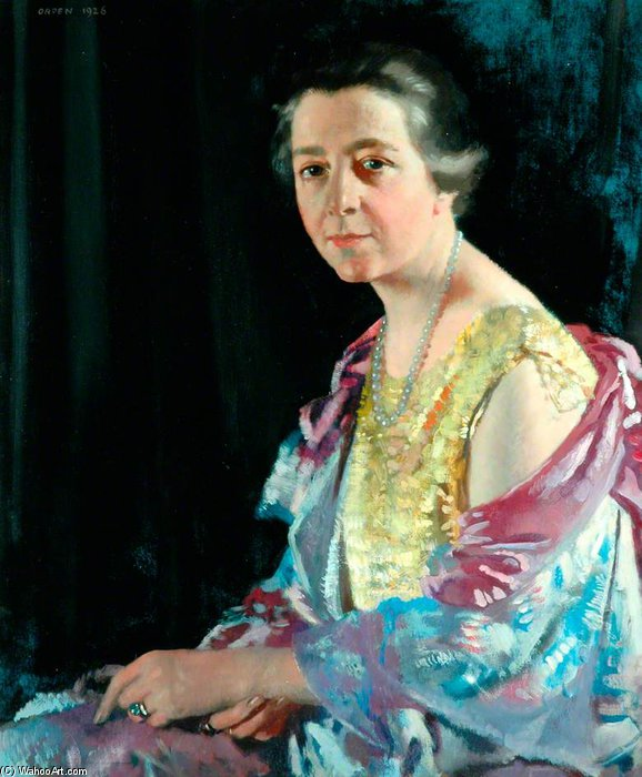La señora Thomas Howarth de William Newenham Montague Orpen (1878-1931, Ireland)