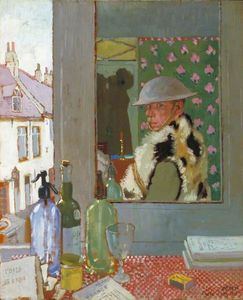 William Newenham Montague Orpen - listo para inicio  -   auto  botas retrato