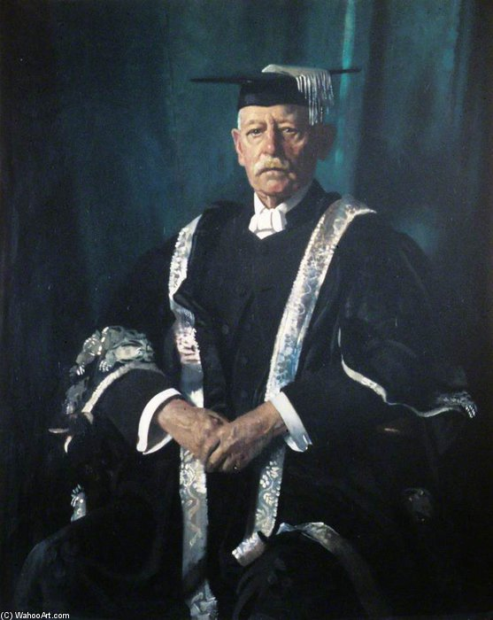 señor Jorge  Adán  Herrero  de William Newenham Montague Orpen (1878-1931, Ireland)