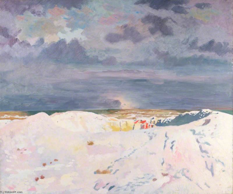 el gran La mía , La Boisselle de William Newenham Montague Orpen (1878-1931, Ireland)