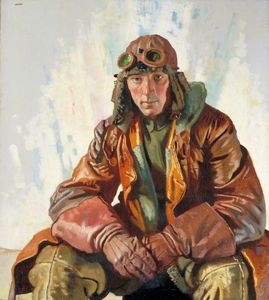 William Newenham Montague Orpen - El Non-commissioned Empleado Piloto , Real cuerpo de vuelo