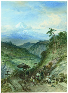 William Simpson - Fujiyama, Japón