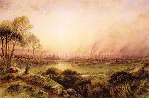 William Wyld - manchester desde kersal moro