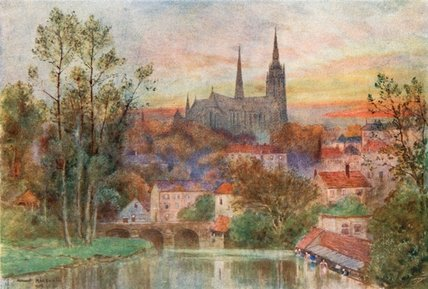 Chartres de Herbert Menzies Marshall (1841-1913, United Kingdom)