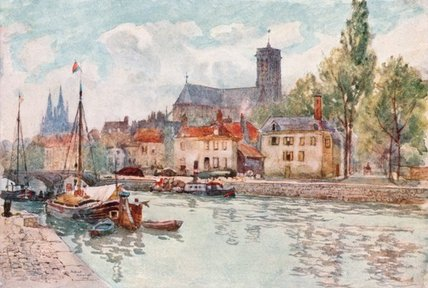 Soissons de Herbert Menzies Marshall (1841-1913, United Kingdom)