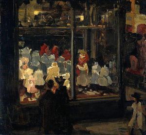 Isaac Lazarus Israels - Window Shop