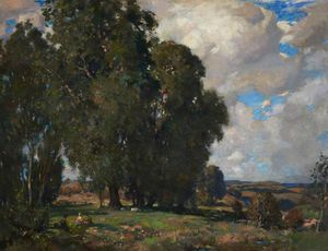 James Whitelaw Hamilton - Paisaje, Kirkcudbright