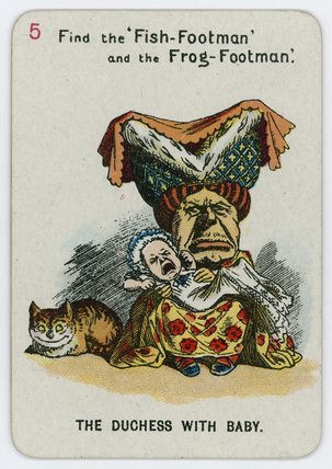 la duquesa enestado  Bebé  de John Tenniel (1820-1914, United Kingdom)