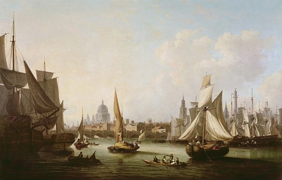 vistas Westminster_2   de John Thomas Serres (1759-1825, United Kingdom)