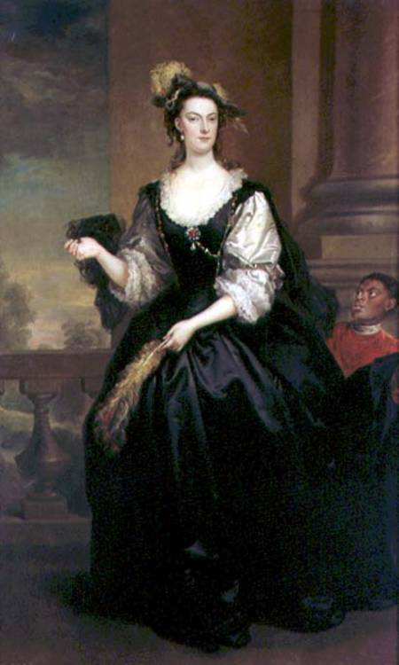 retrato de ana Howard , señora yonge de John Vanderbank (1694-1739, United Kingdom)