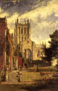 John William Buxton Knight - Catedral de Hereford -