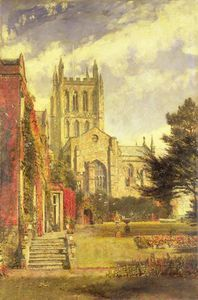 John William Buxton Knight - Hereford Catedral