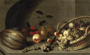 Ambrosius Bosschaert The Younger - sigue la vida de FRUTO