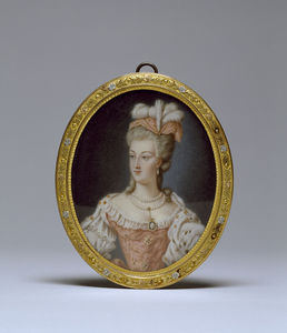 Anne Vallayer Coster - Reina Marie-antoinette