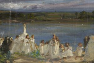 Charles Henry Sims - Procesión