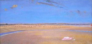 Charles Henry Sims - las arenas a Dymchurch