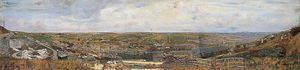 Charles Spencelayh - Vista Panorámica De Luton, Chatham