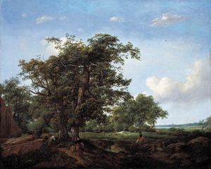 Cornelis Hendricksz The Younger Vroom - Paisaje Pastoral