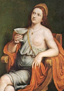 Francesco Vanni - Sofonisba Beber The Poison