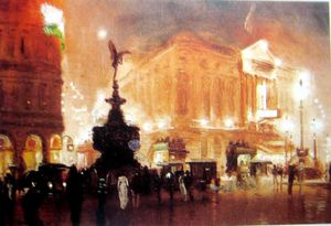 George Hyde Pownall - Piccadilly Circo