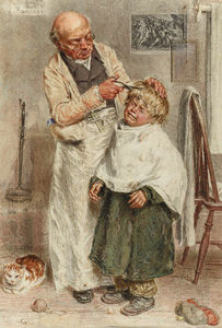 William Henry Hunt - El Barbero
