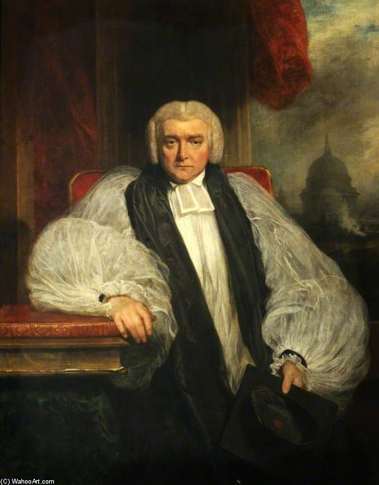 john randolp , Obispo de londres de William Owen (1769-1825, United Kingdom) | WahooArt.com