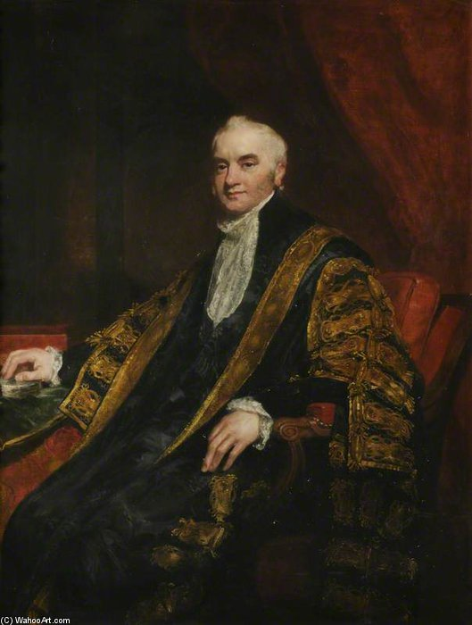 nicholas vansittart , Barón Bexley de William Owen (1769-1825, United Kingdom) | Reproducciones De Calidad Del Museo | WahooArt.com