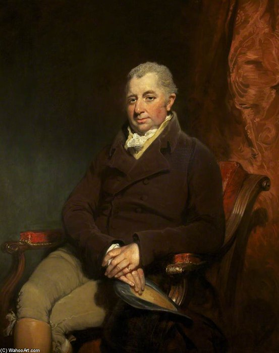 Señor charles gould Morgan-robinson de William Owen (1769-1825, United Kingdom) | Copia De La Pintura | WahooArt.com