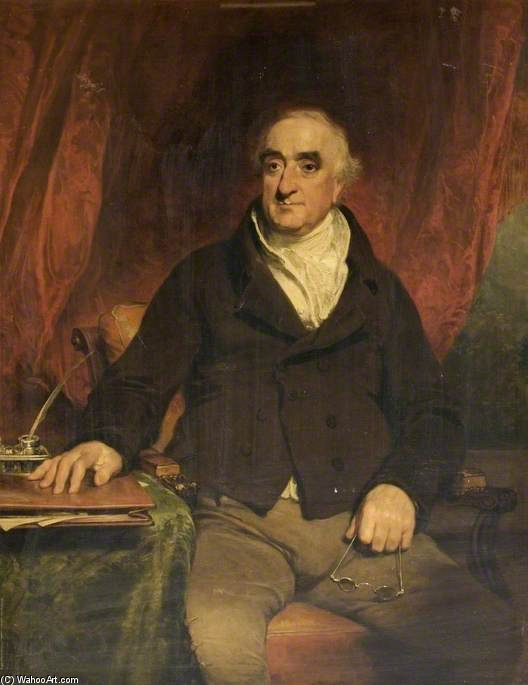 Praed, primer presidente de la Compañía del Canal de Grand Junction de William Owen (1769-1825, United Kingdom) | WahooArt.com