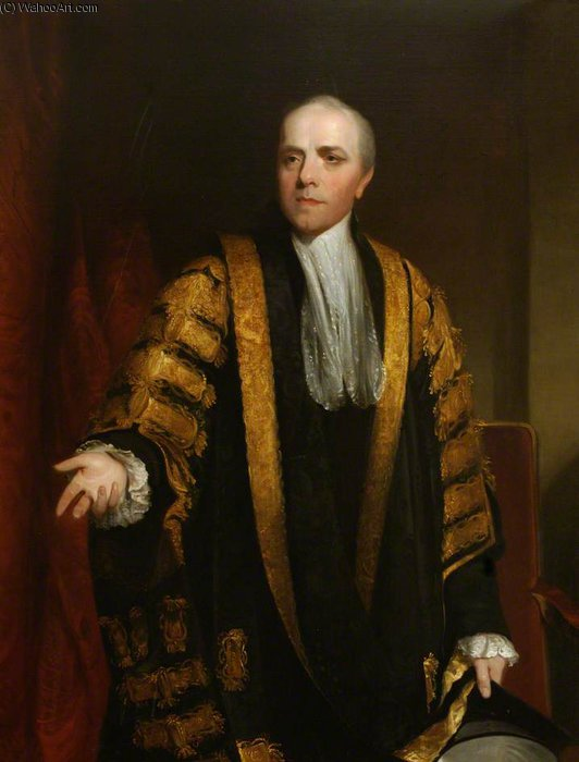 Wyndham Grenville, el barón Grenville, rector de la Universidad de William Owen (1769-1825, United Kingdom) | WahooArt.com