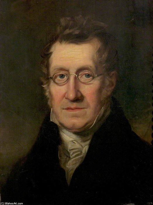 autorretrato de William Payne (1760-1830, United Kingdom)