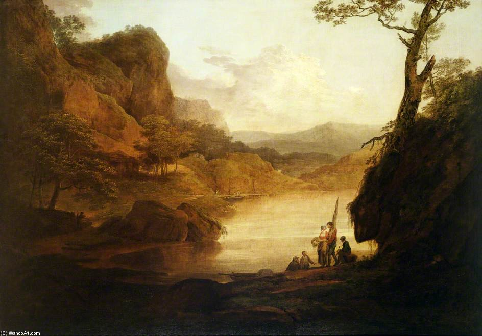 Ver En El Wye de William Payne (1760-1830, United Kingdom)