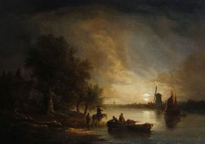 Edward Williams - Nightsbridge - cerca de Yarmouth Caminos Visión