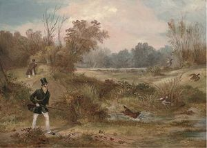 Francis Calcraft Turner - The Shoot Woodcock