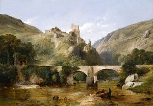 Frederick Richard Lee - Castillo de Richmond, Yorkshire