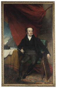 Henry William Pickersgill - Retrato de John Thomas Peluquería Beaumont