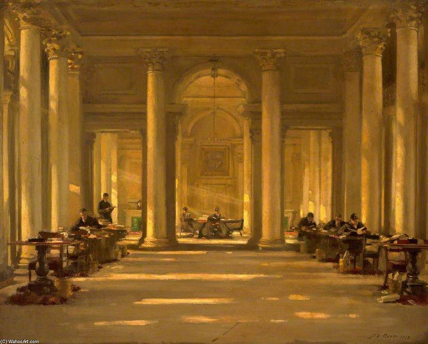 """La Biblioteca Signet, Edimburgo -"""" de Patrick William Adam (1854-1929)"""