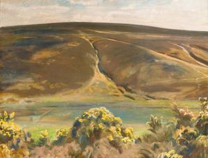 Alfred James Munnings - Mill Hill, Remo, Exmoor