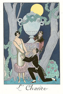 Georges Barbier - L'avarice