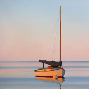 James Netherlands - Atardecer Con Catboat