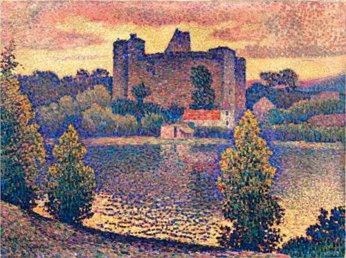 Le Chateau De Clisson de Jean Dominique Antony Metzinger (1883-1956, France)