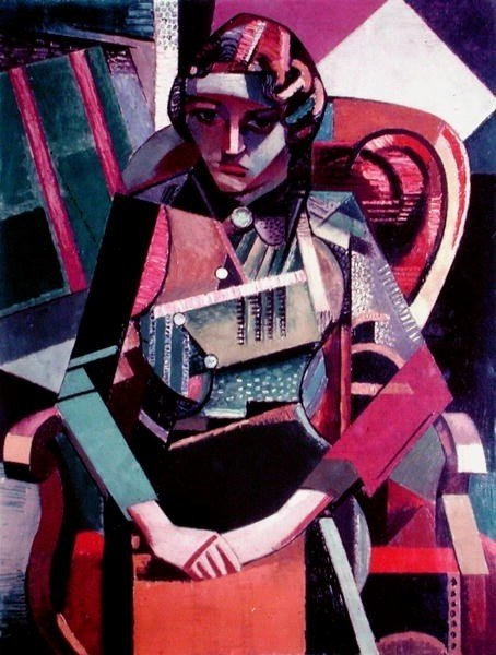 ¿cómo será captura  mi  ojo  de Jean Dominique Antony Metzinger (1883-1956, France)