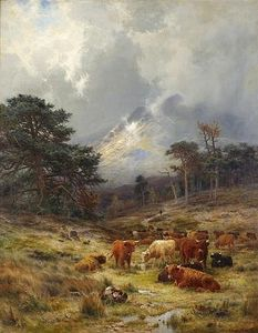 Louis Bosworth Hurt - Braes a Orchy , Argylshire