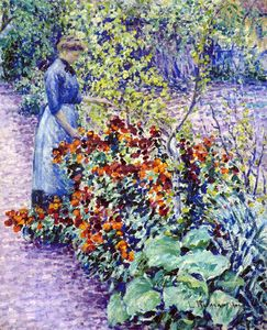 Louis Ritman - jardín in Giverny