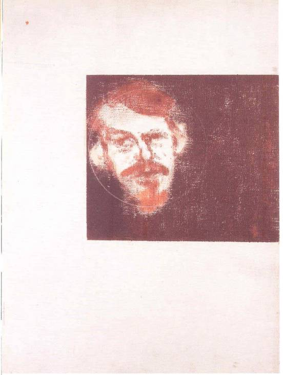 Creeley de Ronald Brooks Kitaj (1932-2007, United States)