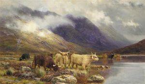 Louis Bosworth Hurt - En Glencoe - The Hills se oscurecen