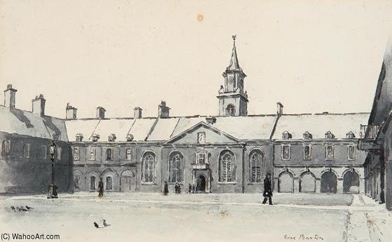 Real hospital kilmainham de Rose Maynard Barton (1856-1930, Ireland)