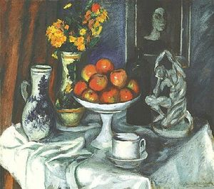 Armand Schonberger - Still-life Enestado Fruit-dish